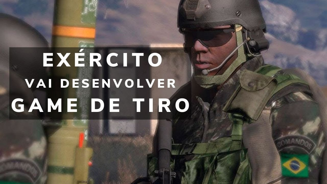 EXÉRCITO BRASILEIRO ESTÁ DESENVOLVENDO GAME DE TIRO COM ESTRATÉGIA MILITAR INSPIRADO EM ARMA 3