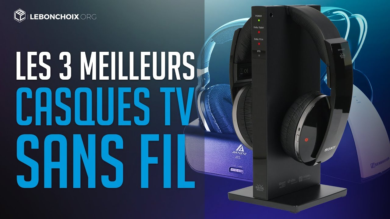 top3 meilleur casque tv sans fil 2018 comparatif test youtube. Black Bedroom Furniture Sets. Home Design Ideas