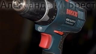 Чиним gsr 14.4 Bosch \ Ремонт редуктора \ Вывалился патрон \ Отвалился \ Паз для стопорного кольца