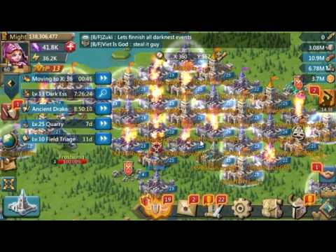 Lords Mobile Raiding Hive In Kingdom 85