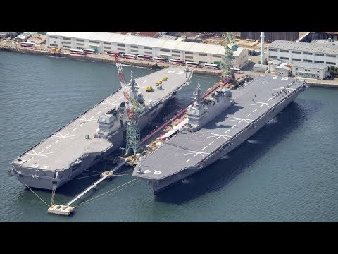 the world is shocked japanese supercarrier coming soon youtube