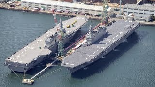 The World is Shocked : Japanese Supercarrier Coming Soon
