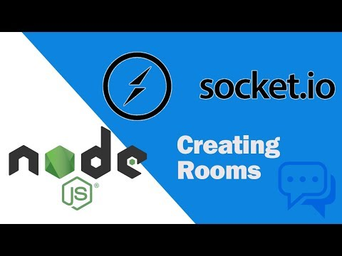 Node JS - Socket.IO - Passing Data & Creating Rooms