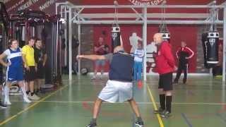 Роман Кармазин провел мастер-класс в Академии бокса