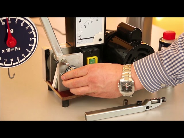 Test di prova Metalubs con macchina specifica (Italiano)