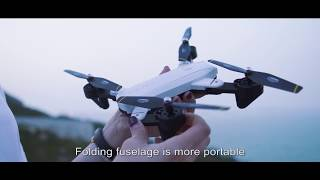 SG700 2.0MP Camera Wifi FPV Optical Flow Positioning Altitude Hold Headless RC Drone RM9372