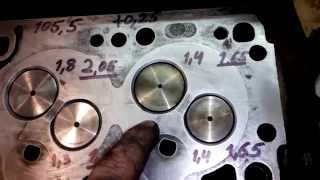 Дизельный двигатель ремонт  Ч1(ремонтирую дизельный двс после другого мастера. до этого был обрыв ремня грм. после ремонта то пропадала..., 2015-04-07T18:36:05.000Z)