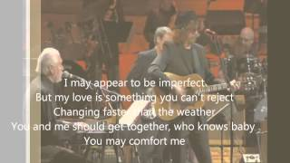 Old Brown Shoe (With Lyrics) - Concert For George  HD