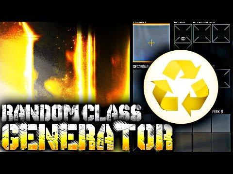 RANDOM CLASS GENERATOR ♻