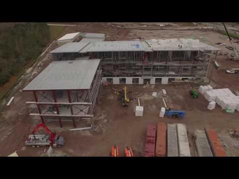 Poinciana Campus Construction Flyover - Valencia College
