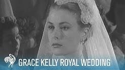 Grace Kelly Royal Wedding to Prince Rainer III (1956)   British Pathé