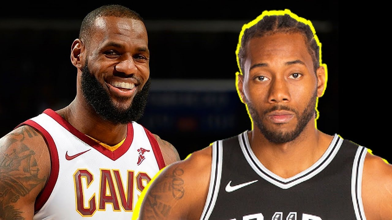 How LeBron James Reacted To Kawhi Leonard Requesting A Trade From The Spurs (Parody)