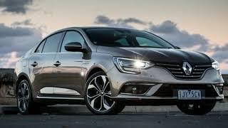 New Renault Megane Intens sedan - 2018 Renault Megane