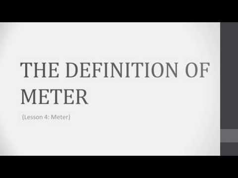 Music Theory Lesson 4.1 - The Definition of Meter