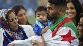 احتفال رياض محرز بلقب البريميرليغ لحظات رائعة  Riyad Mahrez Celebrate Premier League CHAMPIONS