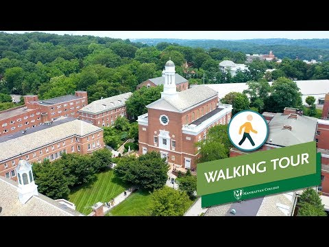 A Walking Tour Of The Manhattan College Campus