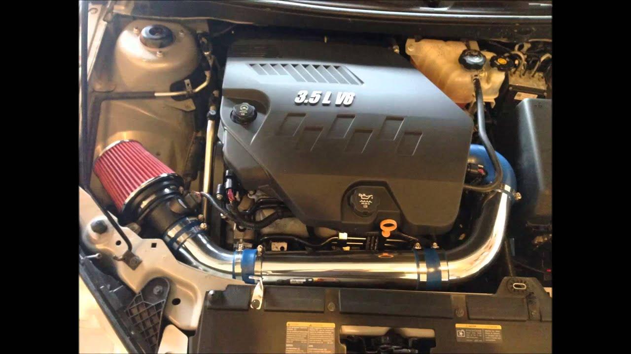 Pontiac G6 3 5l V6 Short Ram Air Intake Youtube