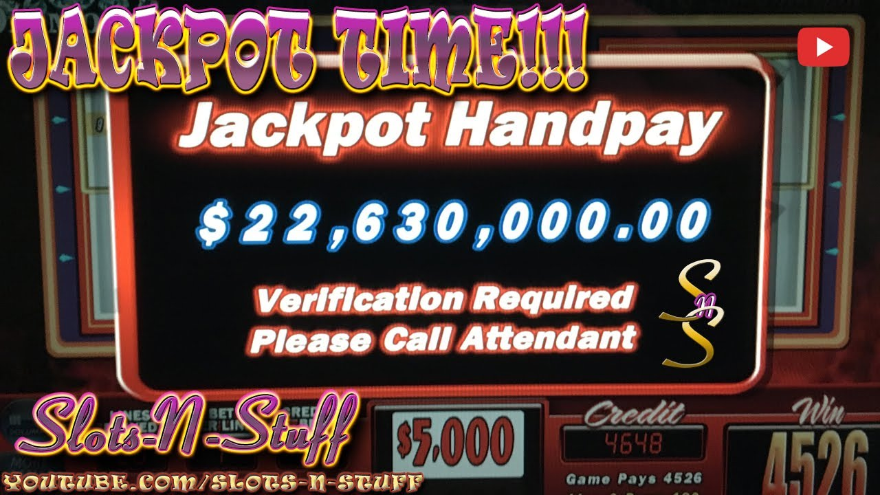 Youtube High Limit Slot Jackpots