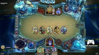Hearthstone Defeating the Lich King - Warlock