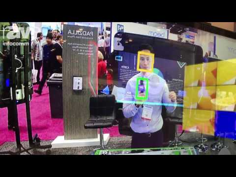 InfoComm 2017: PQ Labs Demos Augmented Reality Interactive Touch Screen