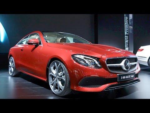 2018 Mercedes-Benz E-Class Coupe - 2017 Detroit Auto Show