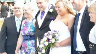 Donna and Aarons wedding Ramsgate