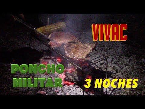 VIVAC con PONCHO MILITAR * 3 Noches * 4 Días * MOCHILA 72 + Horas * VIVACS Y REFUGIOS ( 5/∞ )