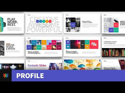 Company Profile Cover Page Design in Photoshop | Photoshop Tutorial | Download PSD.