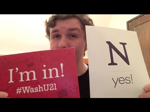 Where am I going to college? My college decision!