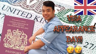 MY NEW CHAPTER.Part2 (Visa Appearance)   Nurse Even