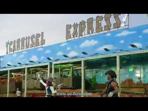 Feria De Murcia 2014 - Carrusel Express - NOVEDAD 2014