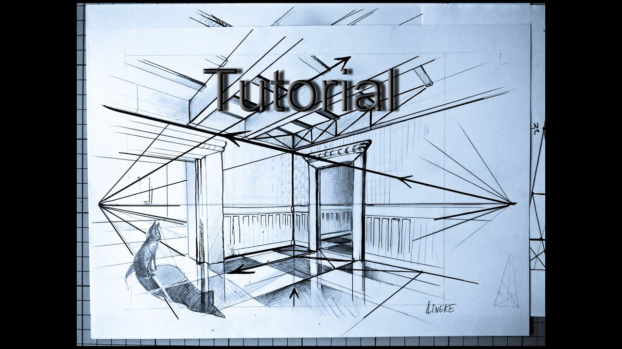 Easy Perspective For Beginners Drawing Interior