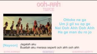 TWICE OOH AHH MV EASY LYRIC LIRIK INDONESIA