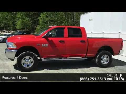 2015 RAM 2500 Tradesman 35'Tires Crew cab - AutoNorth Pre - YouTube