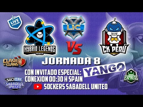 Download LIC. J8. HYBRID LEGENDS VS. CK PERU. CON YANGO. CLASH OF CLANS