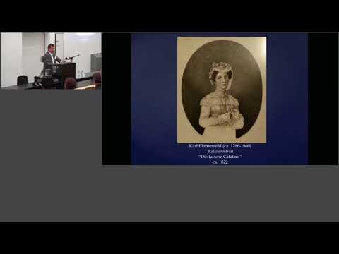 Robert Crowe, A Female Impersonator in Post-Napoleonic Europe: Karl Blumenfeld