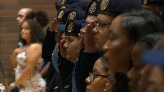 HONORING JUNIOR: NYPD awards scholarships in honor of slain Bronx teen Lesandro Guzman-Feliz