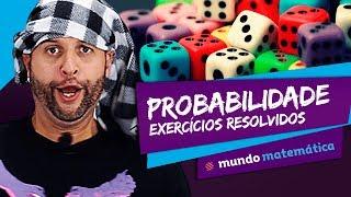 🎲 Probabilidade: Exercícios Resolvidos - Matemática - ENEM
