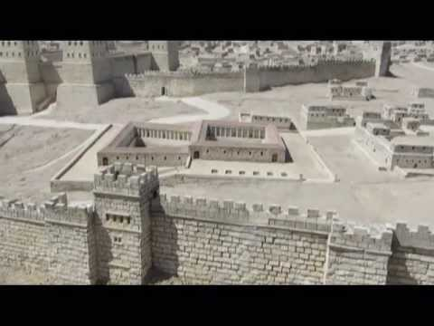A 1:50 scale-model of the city of Jerusalem in the late Second Temple Period. Israel Museum, Israel