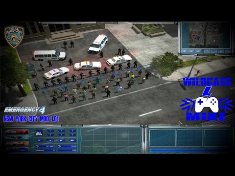 CRIME WAVE!  (Emergency 4 NYC mod v1.01)
