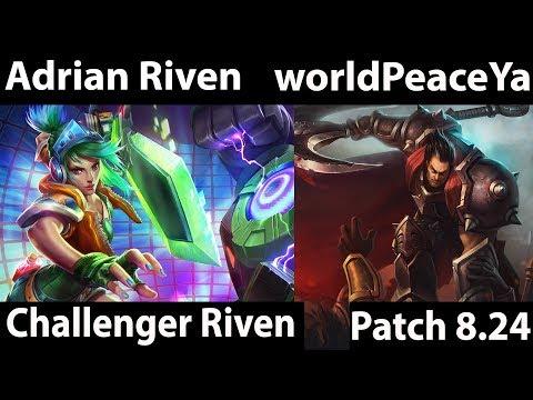 [ Adrian Riven ] Riven vs Darius [ worldPeaceYan ] Top - Adrian Riven 8.24