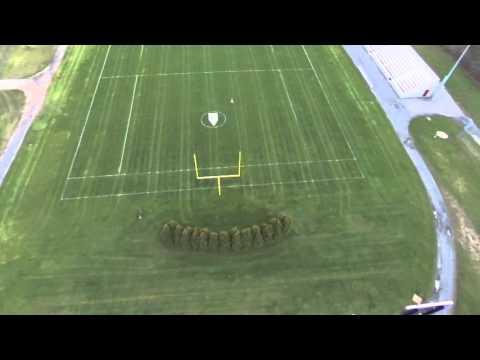 Parrot Bebop2 - Holland Stadium - Flight Plan