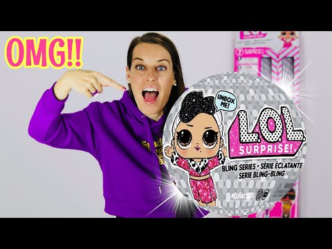 LOL SURPRISE BLING SERIES DOLLS!! Part 8: FULL CASE UNBOXING!  NEW L.O.L SURPRISE HOLIDAY SERIES 4!