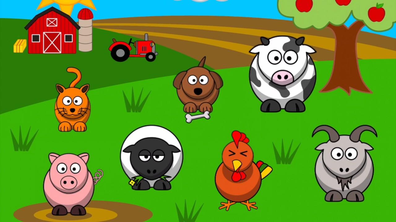 Ferma animalelor - Cantece pentru copii | TraLaLa - YouTube