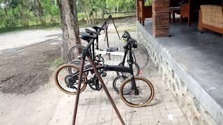 """Sepeda lipat : kelebihan dan kekurangan wheelset 16"""", 20"""" dan 22 inci (Dahon, Foldx, Noris)"""