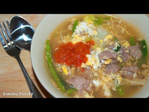 วิธีทำสุกี้หมูกินเองง่ายๆสไตล์เด็กหอ Thai Sukiyaki