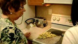 Mom Making Kreplach With Wanthanee