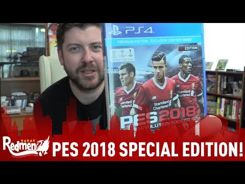 UNBOXING LIVERPOOL FC EDITION OF PES 2018!