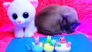 ПОТЕРЯННЫЕ КОТЯТА LOST KITTIES / Браслет игрушка TWISTY PETZ КОТ И СОБАКА /Распаковка СЮРПРИЗ БОКС