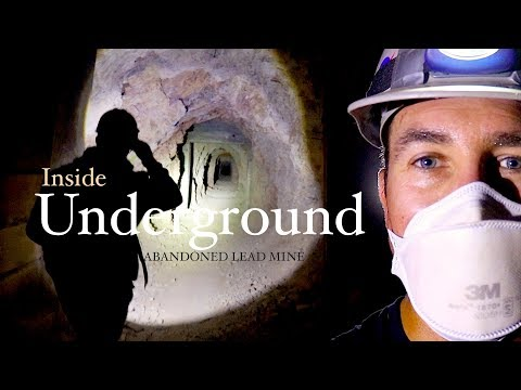 Inside Underground - Abandoned Lead Mine